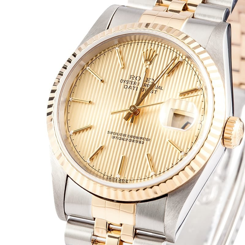 Rolex Two Tone Datejust
