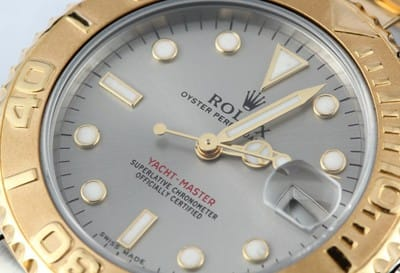 Rolex Yachtmaster Two Tone 168623