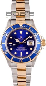 Pre-Owned Men's Rolex Submariner Steel & Gold Transitional 16803