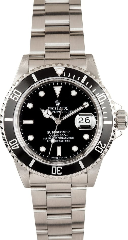 Mens Rolex Submariner 16610