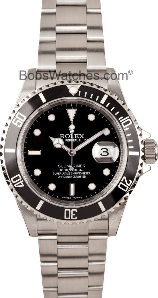 Rolex 16610 Submariner Stainless Steel