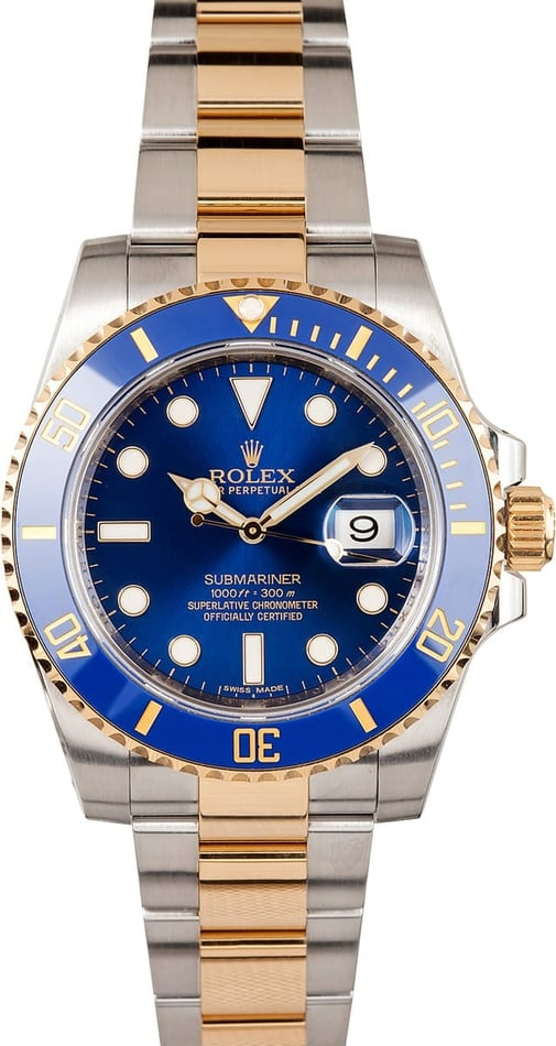 Rolex New Model Blue Ceramic Submariner 116613