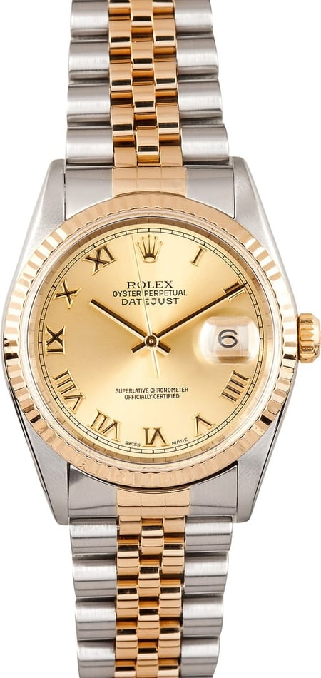 Preowned Mens Rolex Datejust