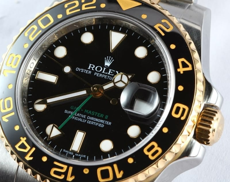 Rolex GMT Master II Automatic Watch 116713-BSO