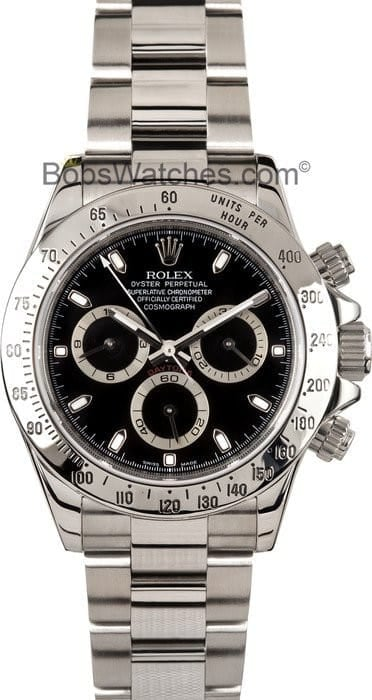 Rolex Daytona Black 116520 4