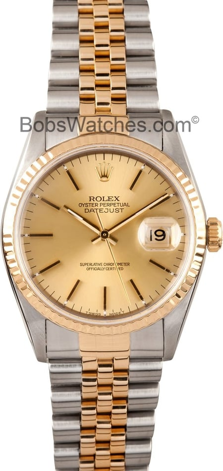 Rolex Mens Pre-owned Datejust 16233