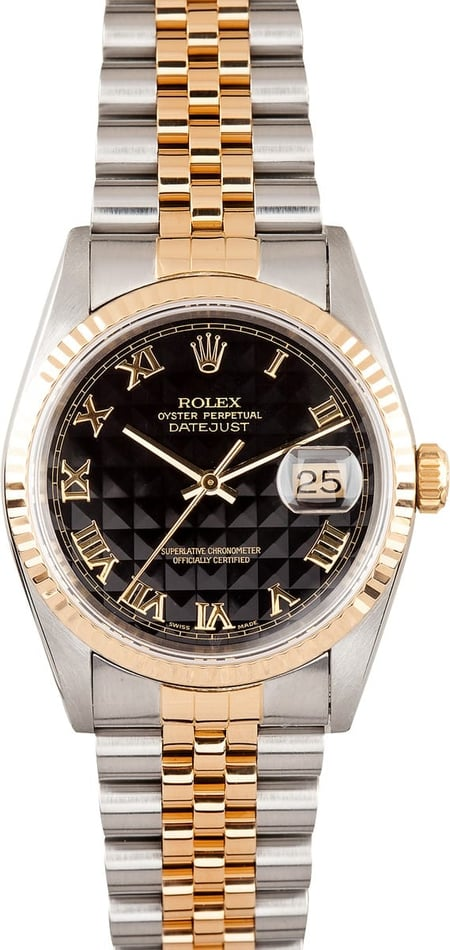 Mens Two tone Datejust Rolex 16233