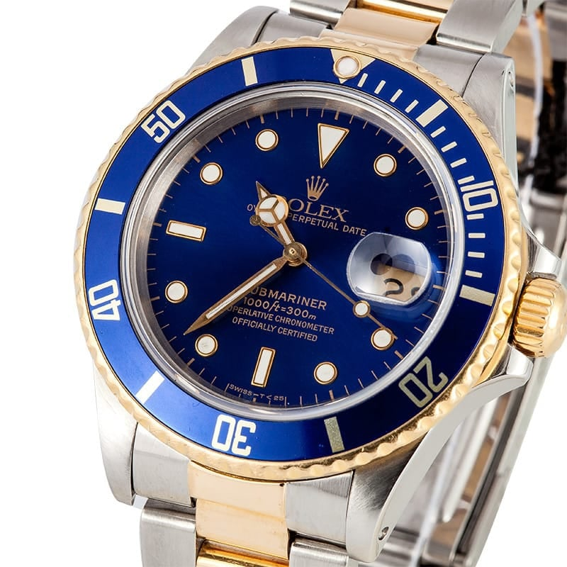 Rolex Submariner Two Tone 16803