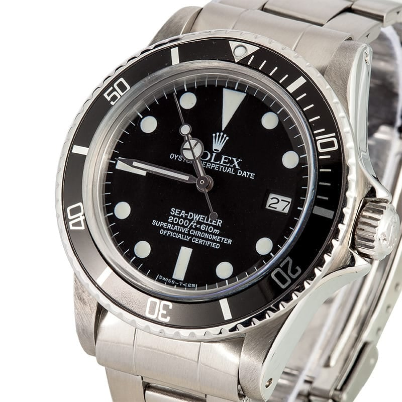 Vintage Men's Rolex Sea Dweller 1665