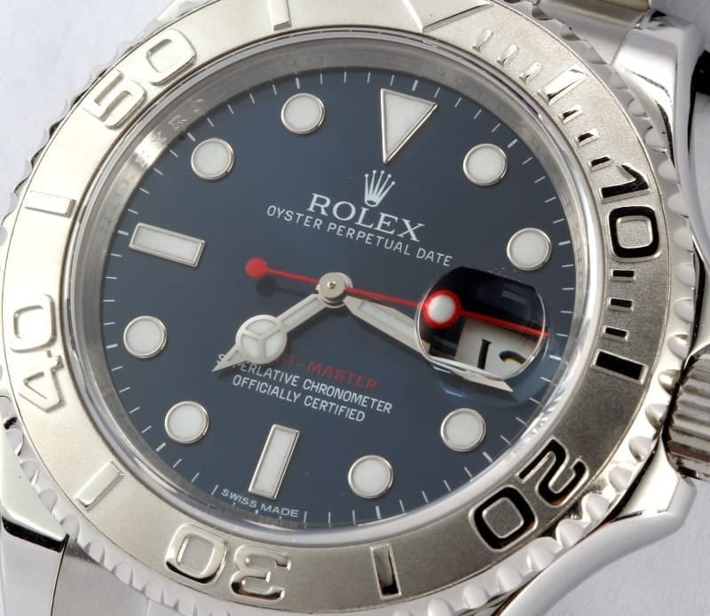 Rolex Steel and Platinum Yachtmaster 116622
