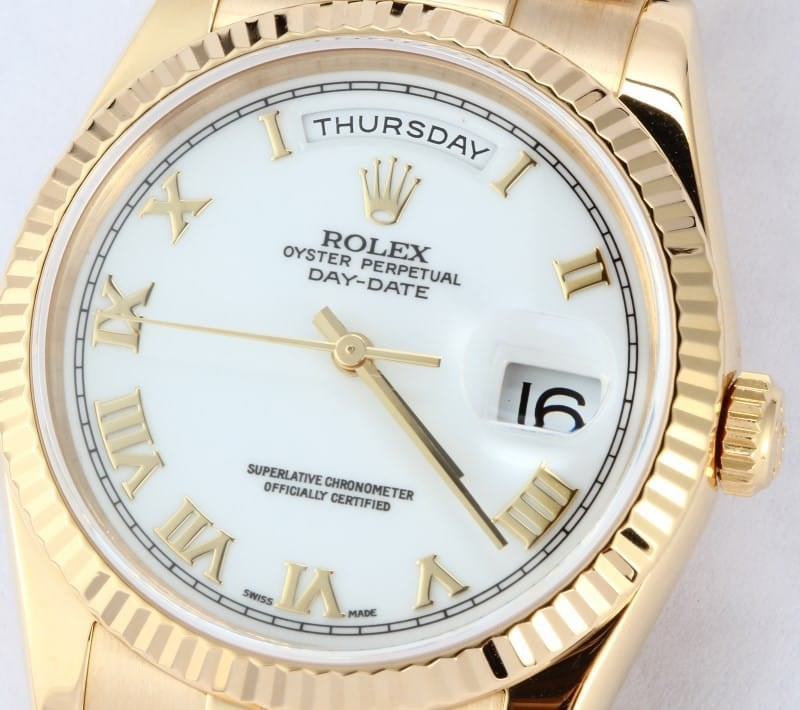 Rolex President Gold Day-Date 118238 Mens