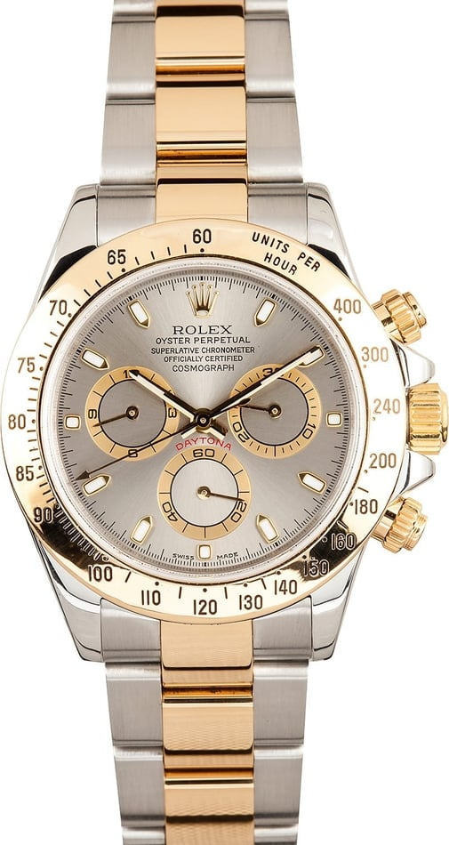 Rolex Daytona Steel and 18K 116523