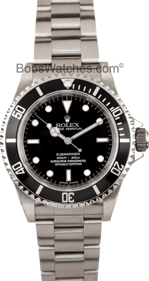 Rolex No-Date Submariner 14060M 2