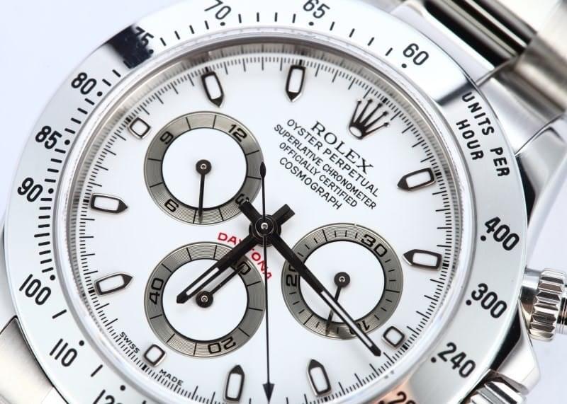 Rolex Daytona White Dial 116520 Mens