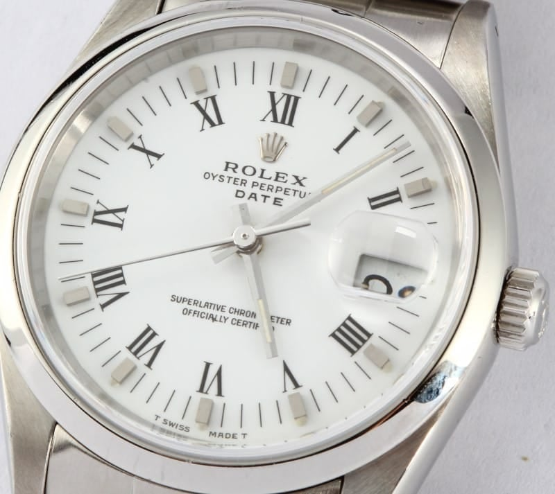 Mens Rolex Date 15200 Pre-owned