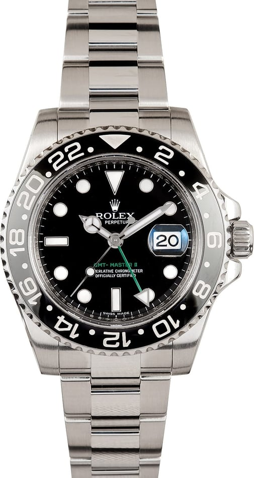 Used Men's Rolex GMT-Master II Model 116710
