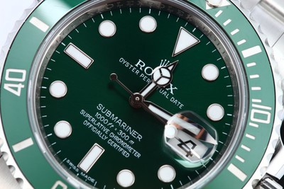 Submariner 116610V Green Anniversary