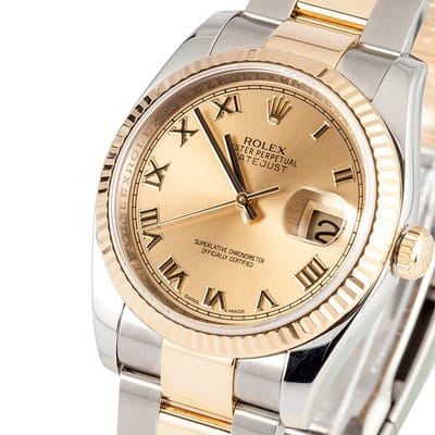 Mens Two Tone Datejust 116233