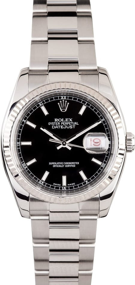 Rolex DateJust Steel Oyster116234
