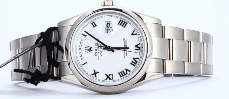 Rolex Presidential 18k White Gold 118209
