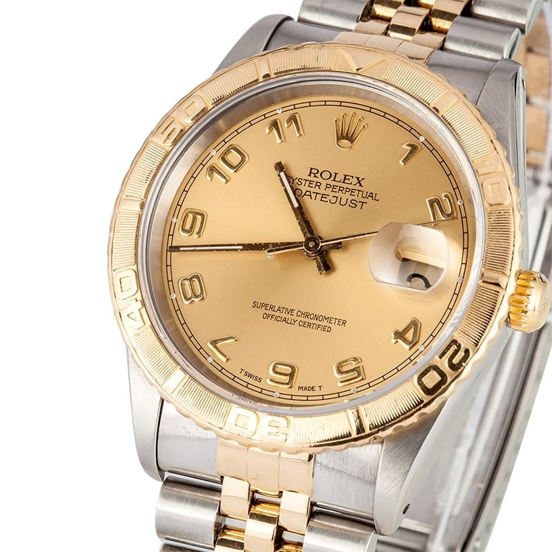 "Rolex Thunderbird ""Turn-o-Graph"" Datejust 16263"