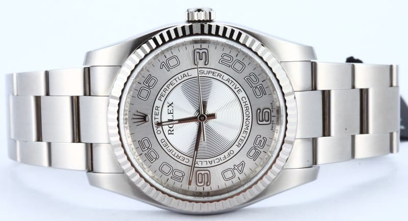 Men's Rolex Oyster Perpetual 116034 Concentric Dial