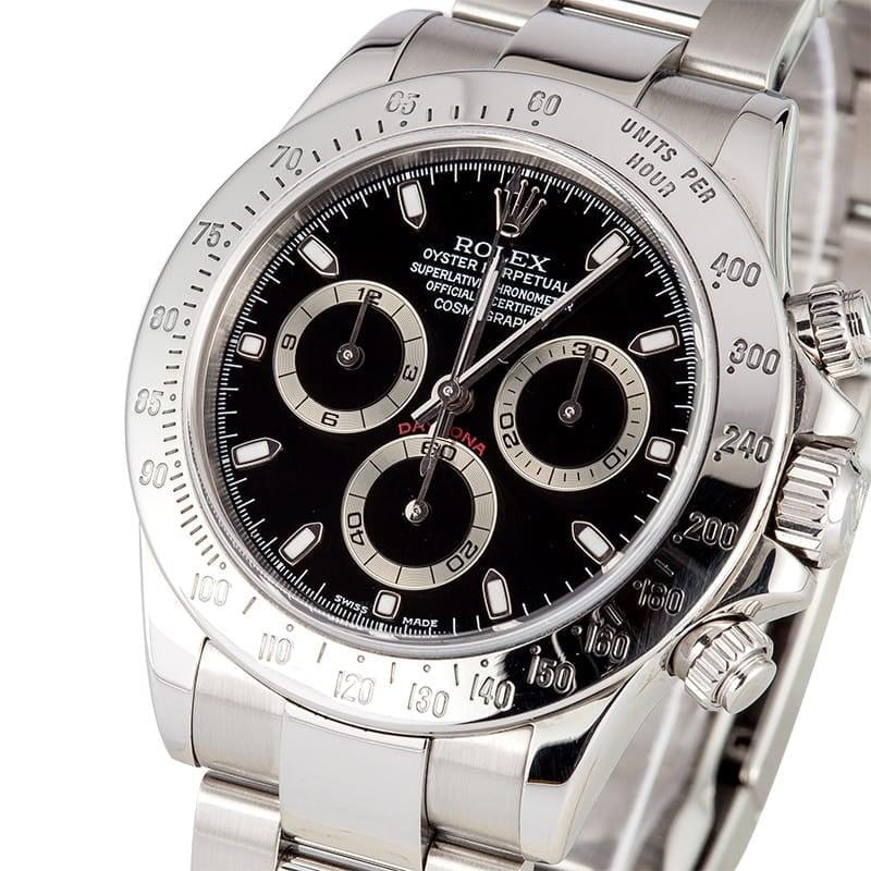 Black Rolex Daytona 116520 x