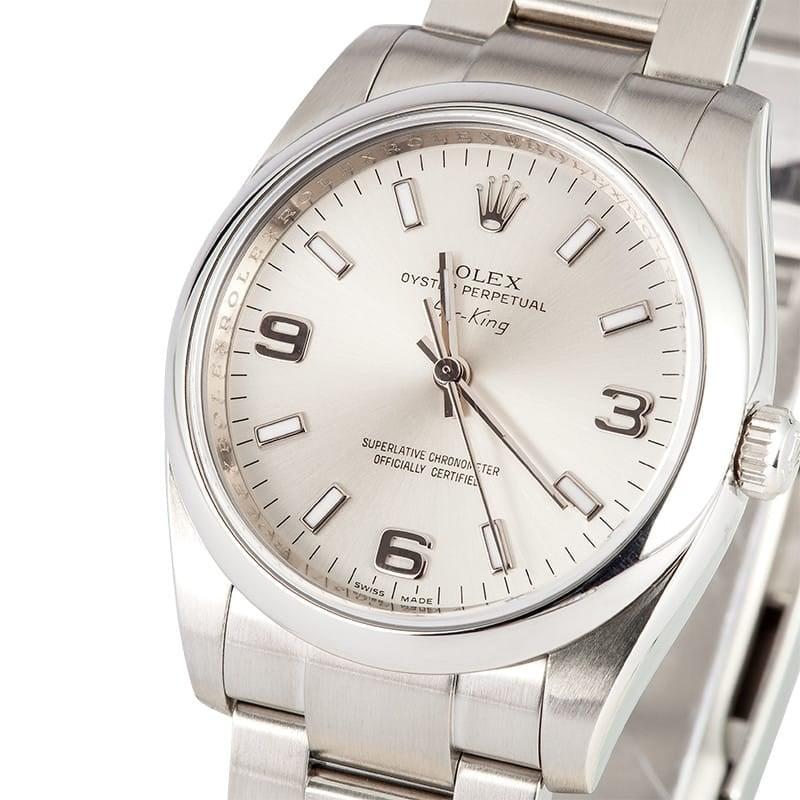 109030 Rolex Air King 114200