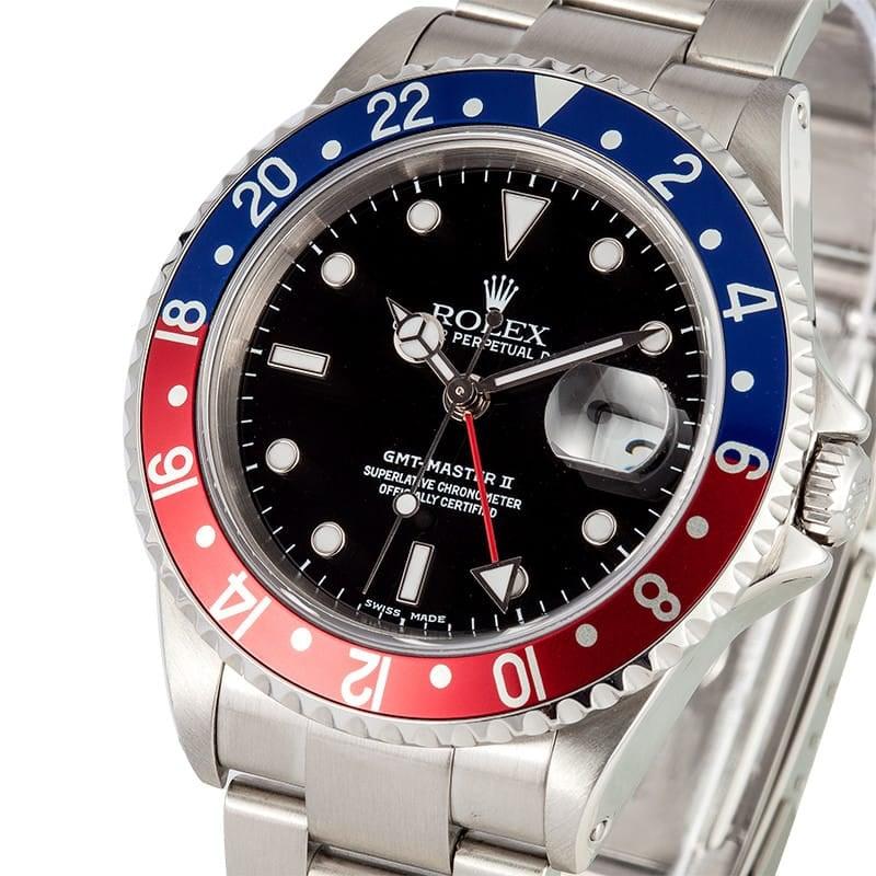 Vintage Rolex GMT Master ii