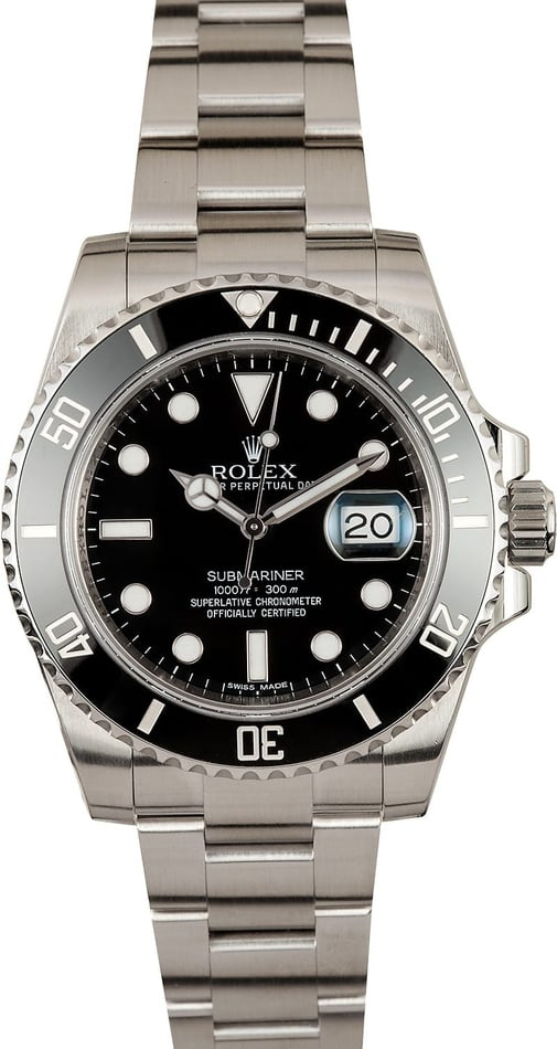Rolex Submariner 116610 New Model, Ceramic