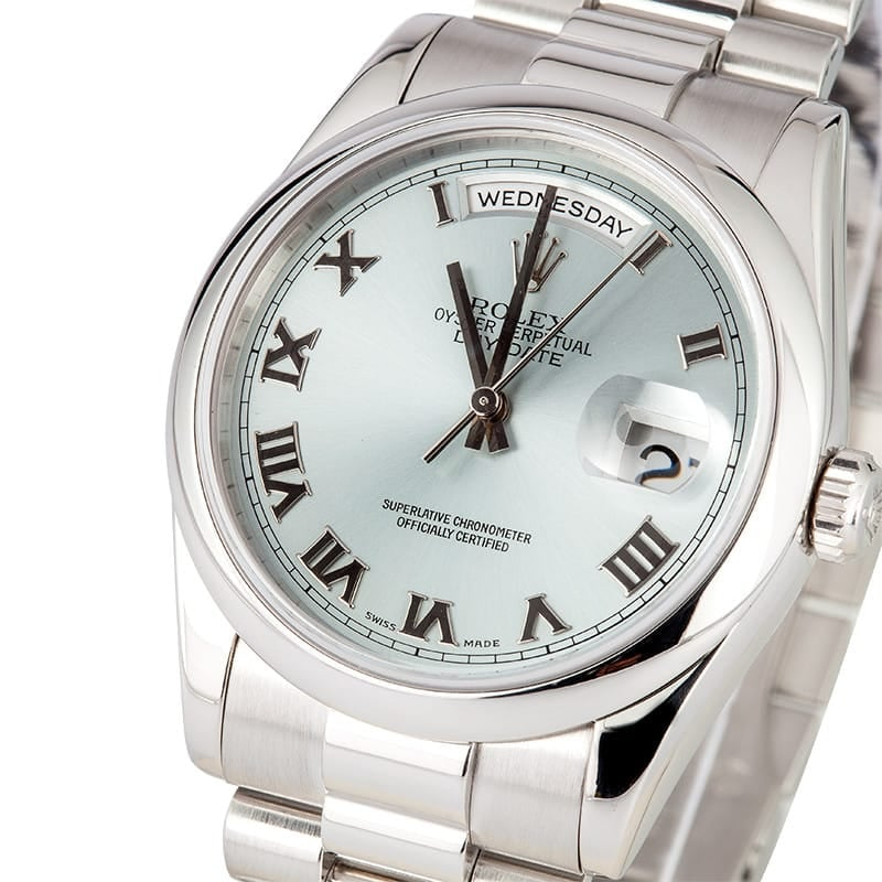 Platinum Day-Date President 118206