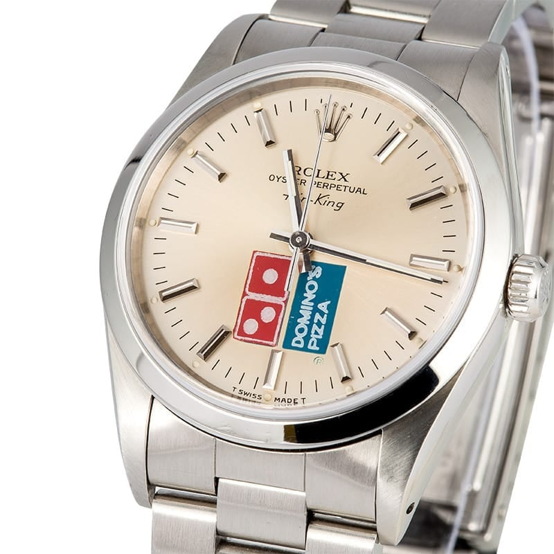 Rolex Air-King 14000 Dominos Pizza Dial
