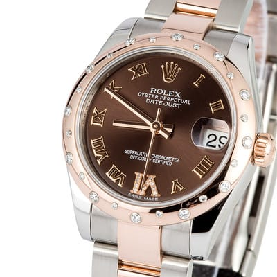 Rolex Rose Gold Mid-size 178341 Datejust