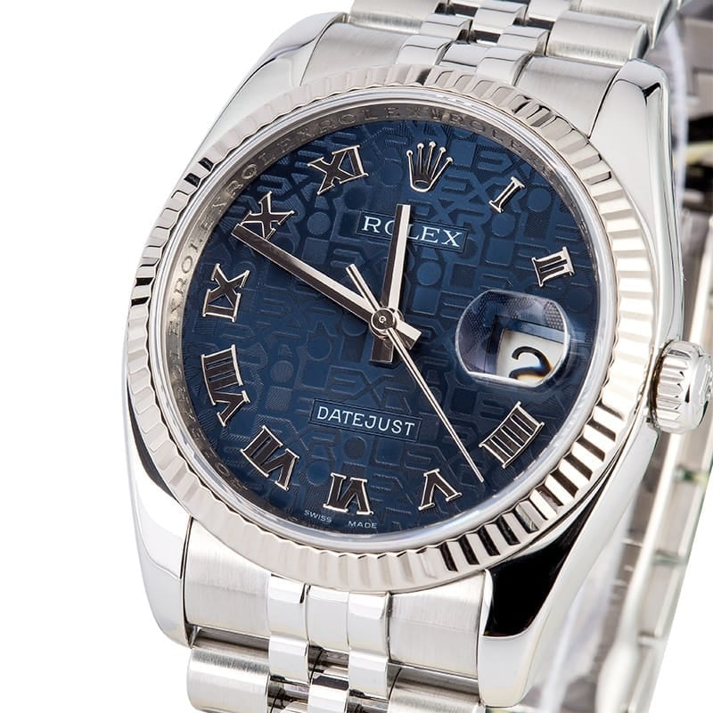 Rolex Datejust 116234 Blue Jubilee
