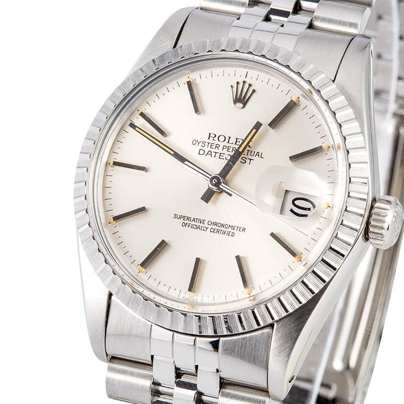 Rolex Datejust 16030 Stainless Steel Jubilee