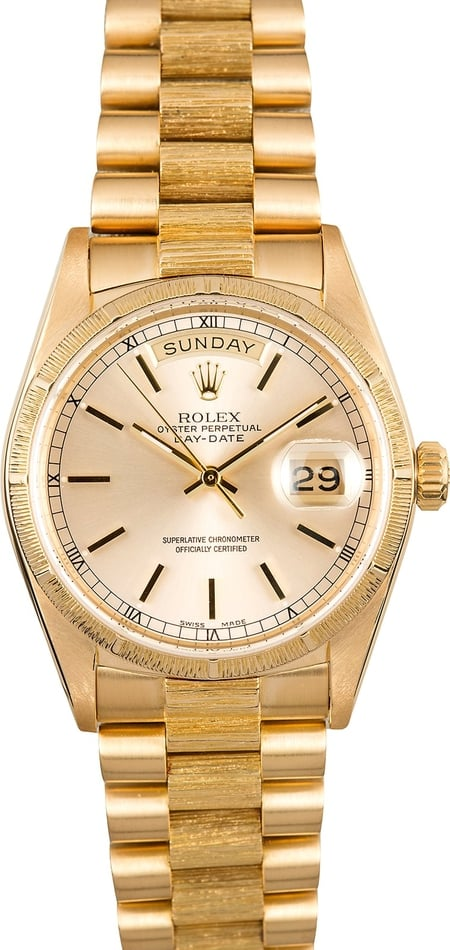Rolex Presidential Day-Date 18078 Bark