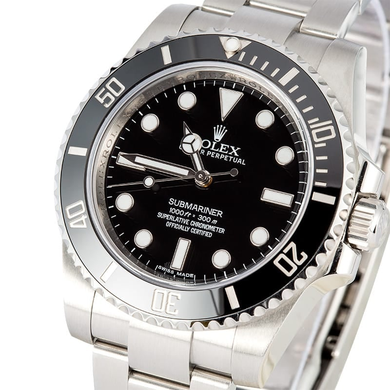 Rolex Submariner 116610 Black Ceramic Watch