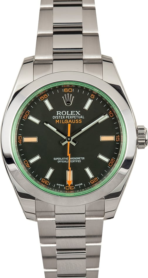 Rolex Milgauss 116400GV Certified Pre-Owned