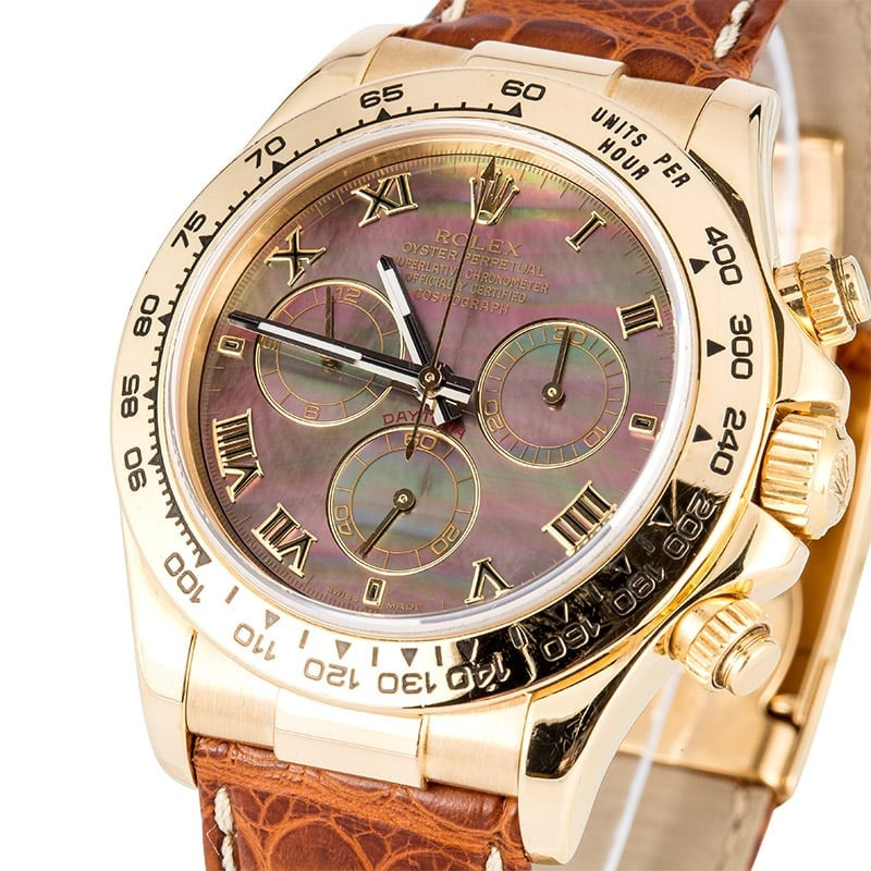 Rolex Daytona 116518 Mother Of Pearl