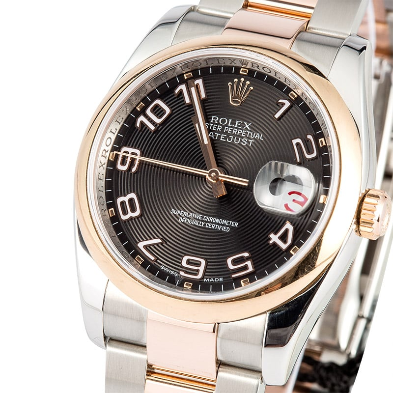Rolex Datejust 116201 Rose Gold