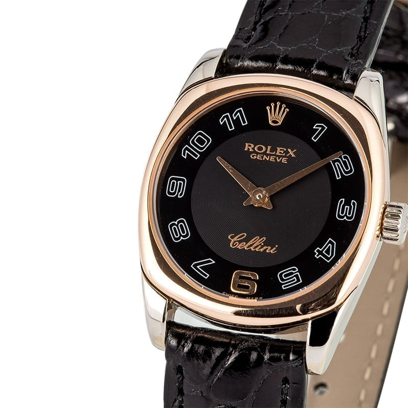 Rolex Ladies Cellini Danaos 6229 Certified Pre-Owned