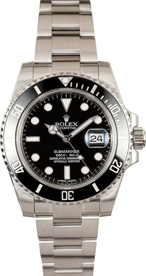 Rolex Submariner Cermic 116610 Factory Stickers