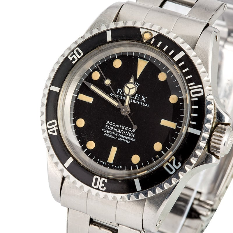 Vintage Rolex Submariner 5512 100% Authentic
