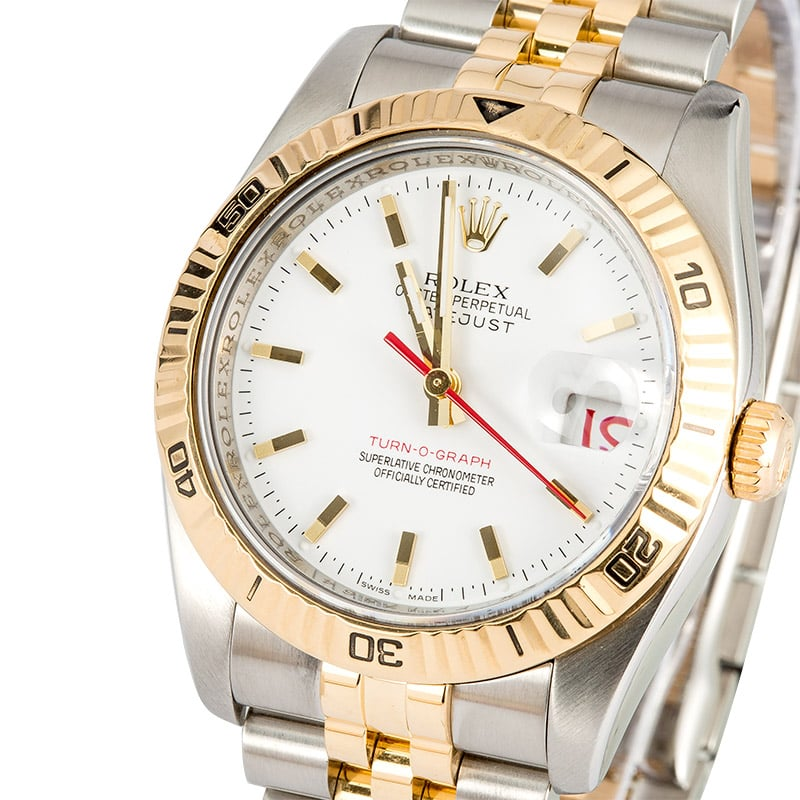 Rolex Datejust 116263 Yellow Gold Thunderbird