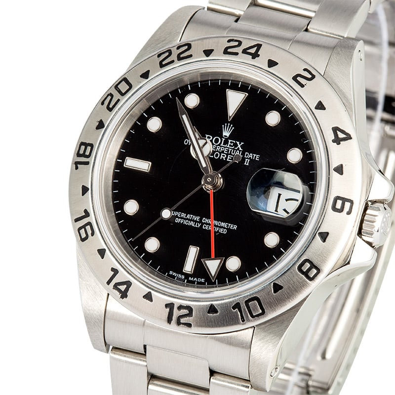 Rolex Explorer 16550 Red GMT Hand