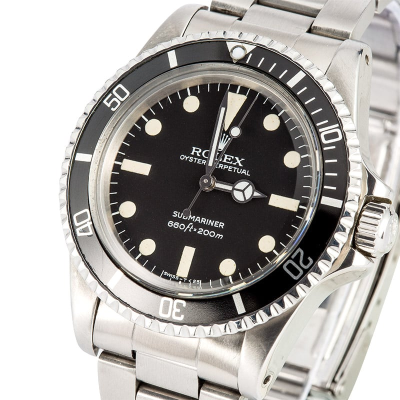 Vintage Rolex Submariner 5513 Mint