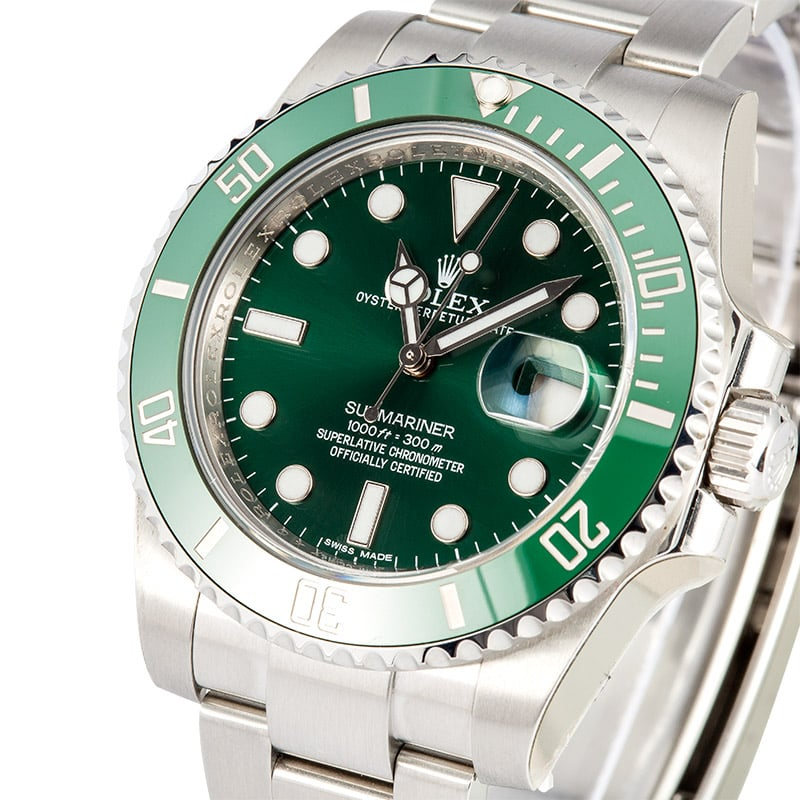 Submariner 116610V Factory Stickers, Rolex Box