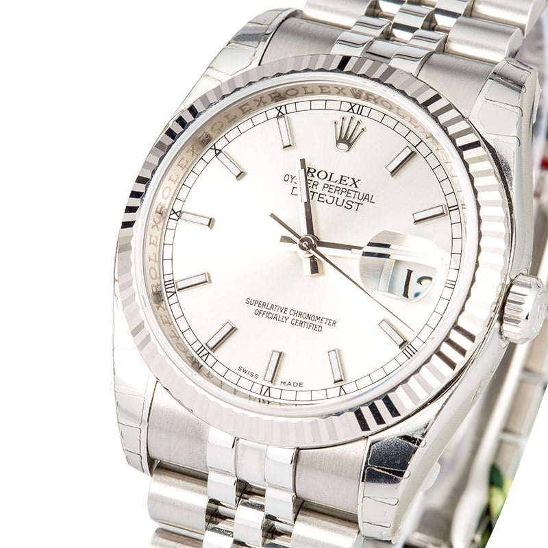 Rolex Datejust 116234 Factory Stickers