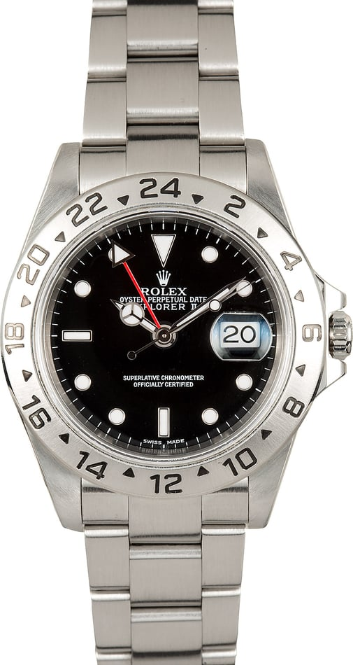 Rolex Explorer II 16570 Black Watch