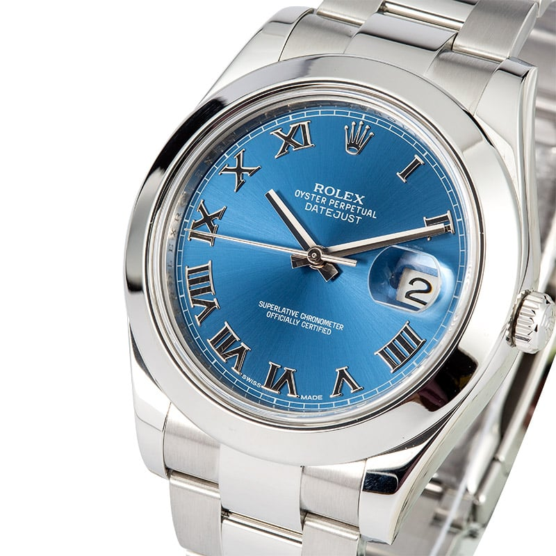 Used Rolex Datejust 41mm